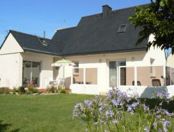 villa rental with spa in Brittany near Plounevez Lochrist