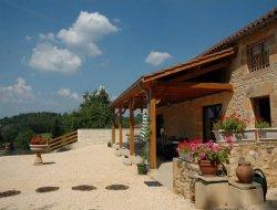 Gite avec piscine dans le Lot et Garonne