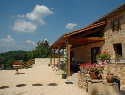 Holiday cottage with pool in the Lot et Garonne near Saint Front sur Lémance