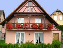 Holiday home near Selestat in Alsace, France. near Kintzheim