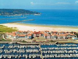 Residence de vacances en bord de mer a Hendaye.