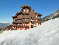 Holiday home in Valmorel ski resort.