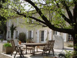 Rent of a gite or a B&B near Avignon in France.