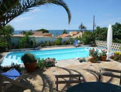 Seaside B&B in the Languedoc Roussillon, France.